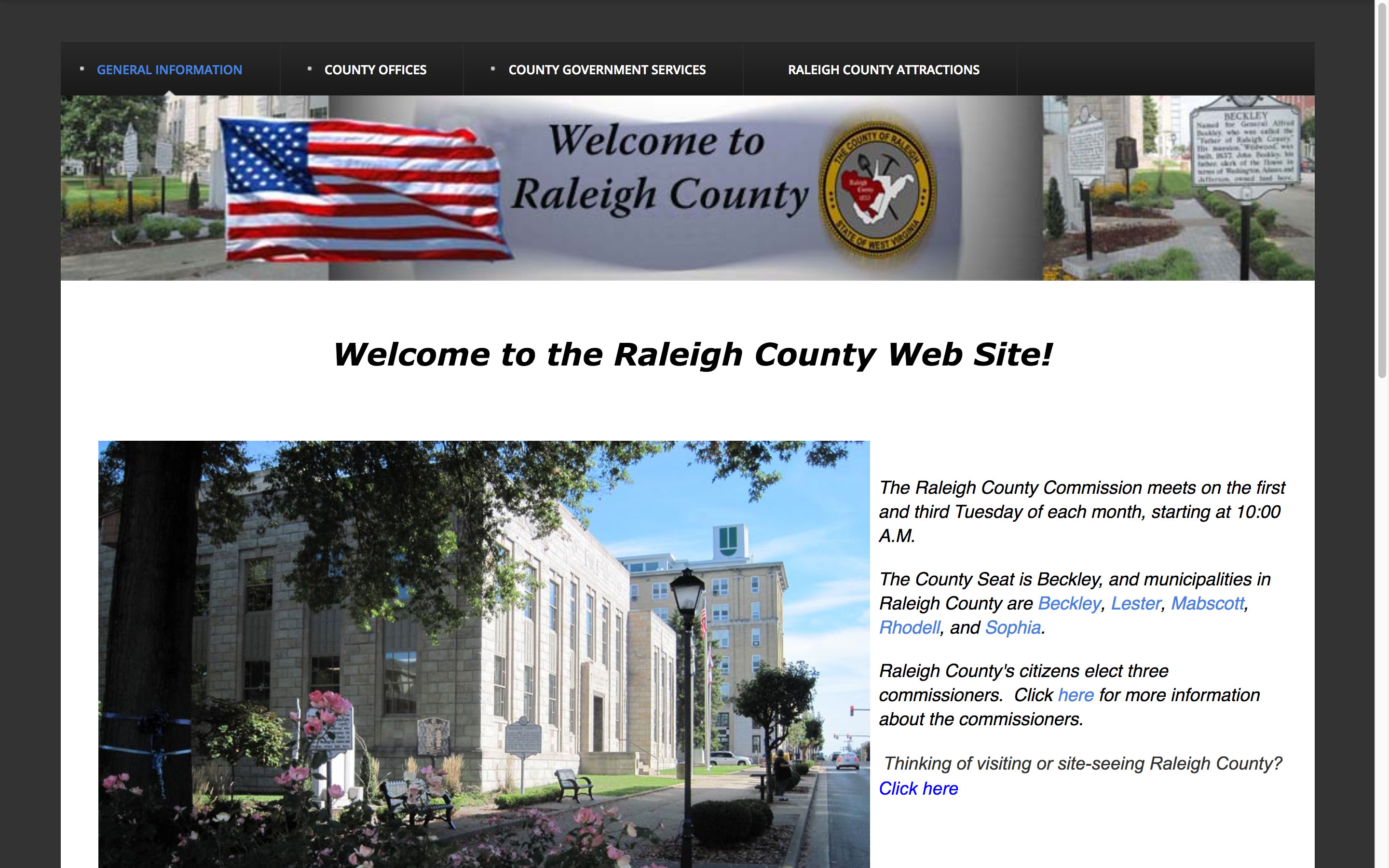 welcome-raleighy-county-web-design