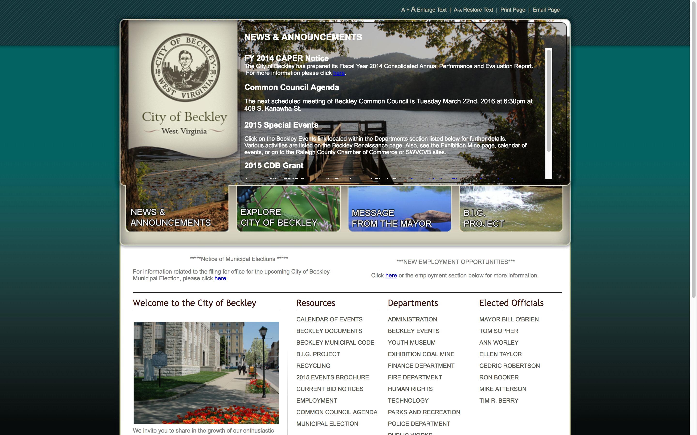 beckley-news--web-design