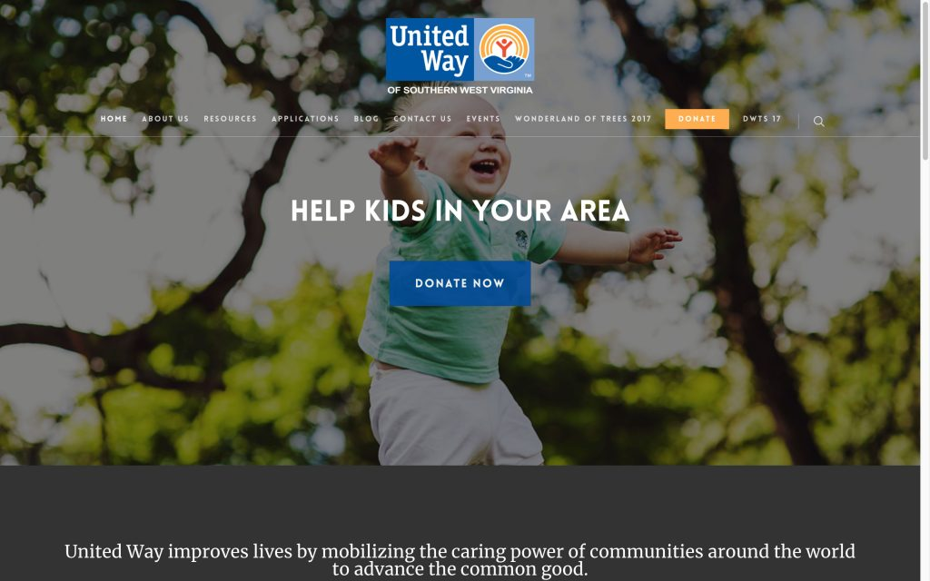 united-way-help-kids-web-design