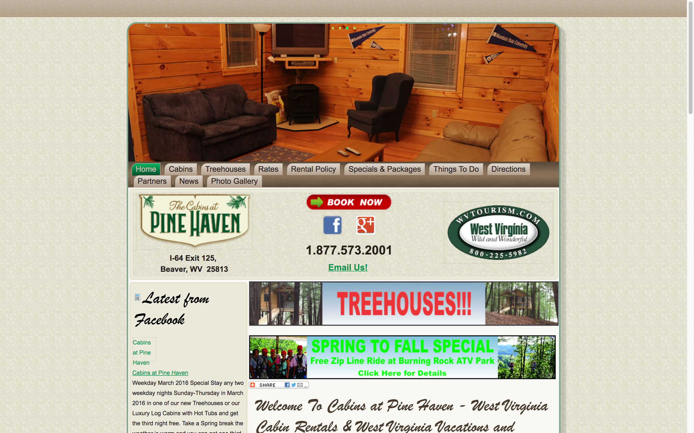 pine-haven-home-web-design