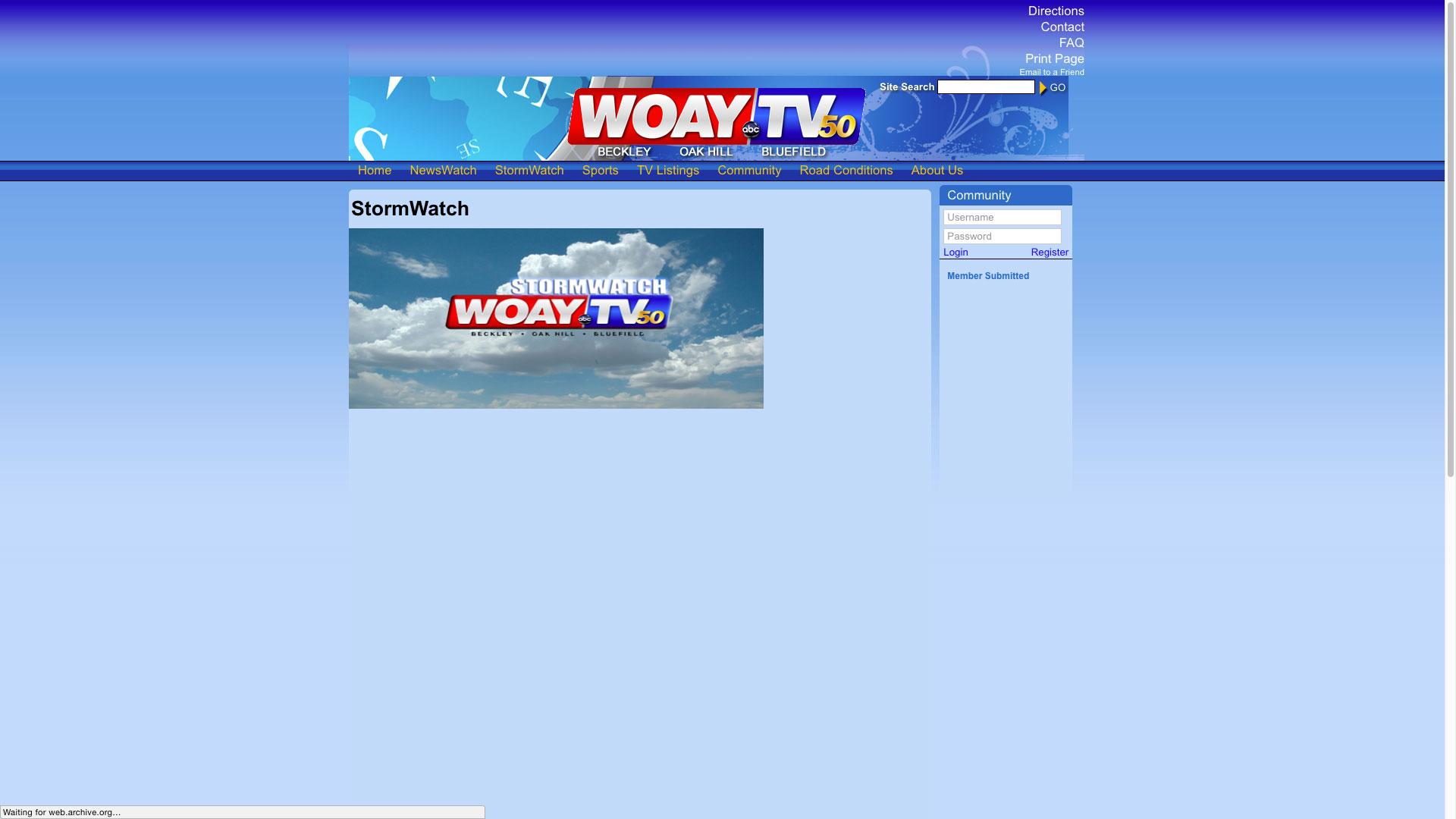 woay-stormwatch-web-design