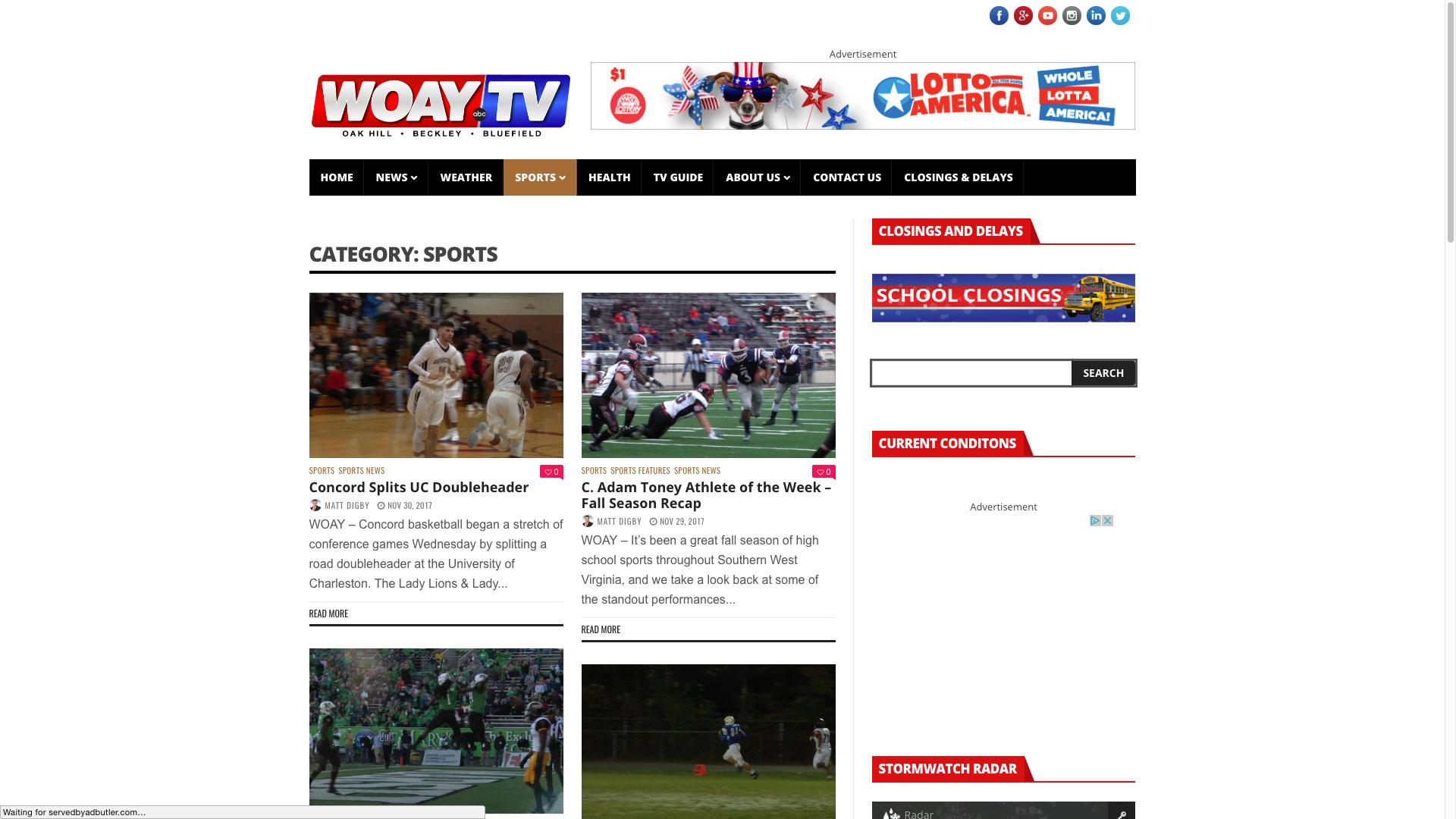 woay-sports-web-design