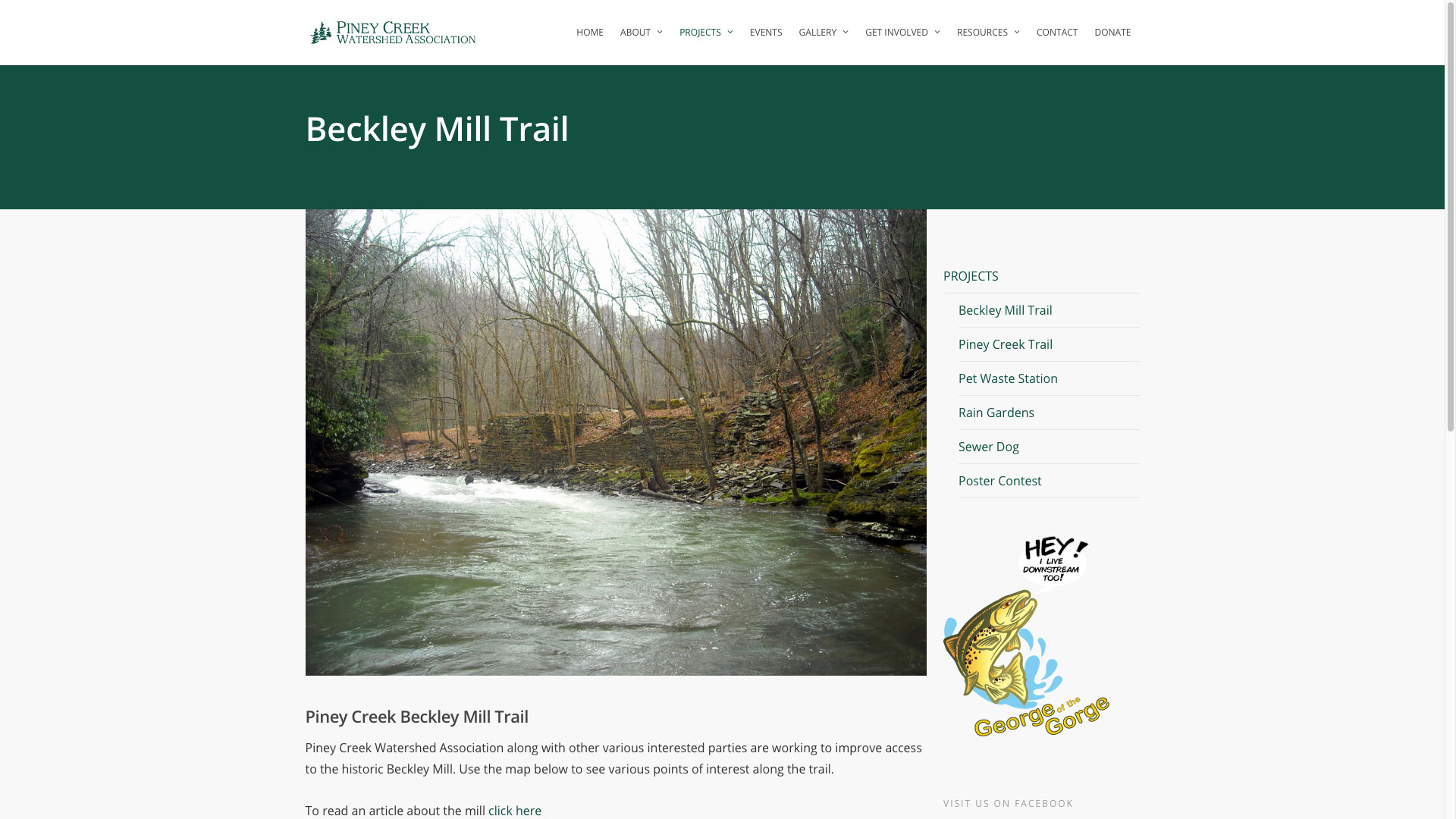 beckley-mill-trail-web-design