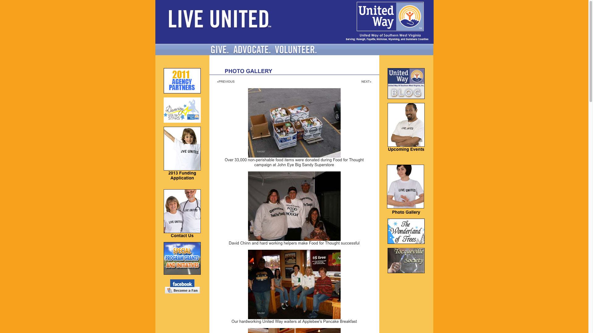 united-way-photo-gallery-web-design