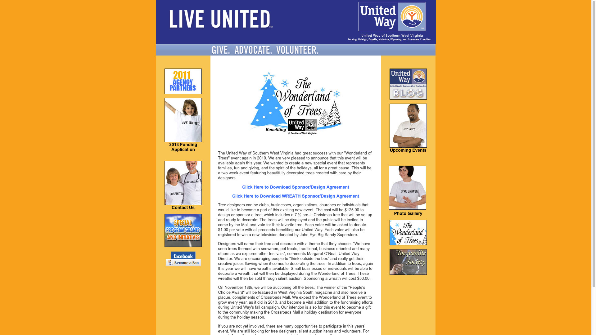 united-way-agreements-web-design