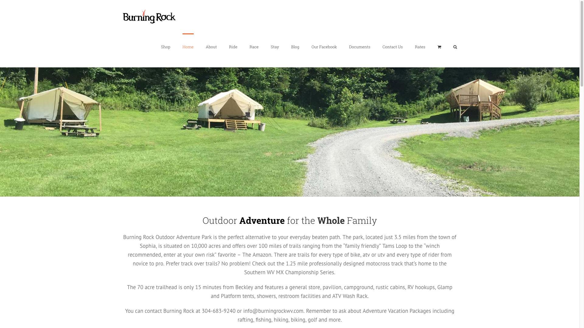 burning-rock-outdoor-adventure-web-design