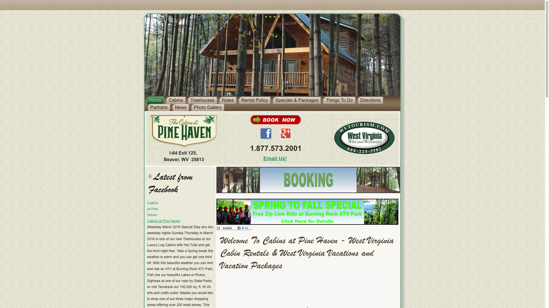 pine-haven-welcome-web-design