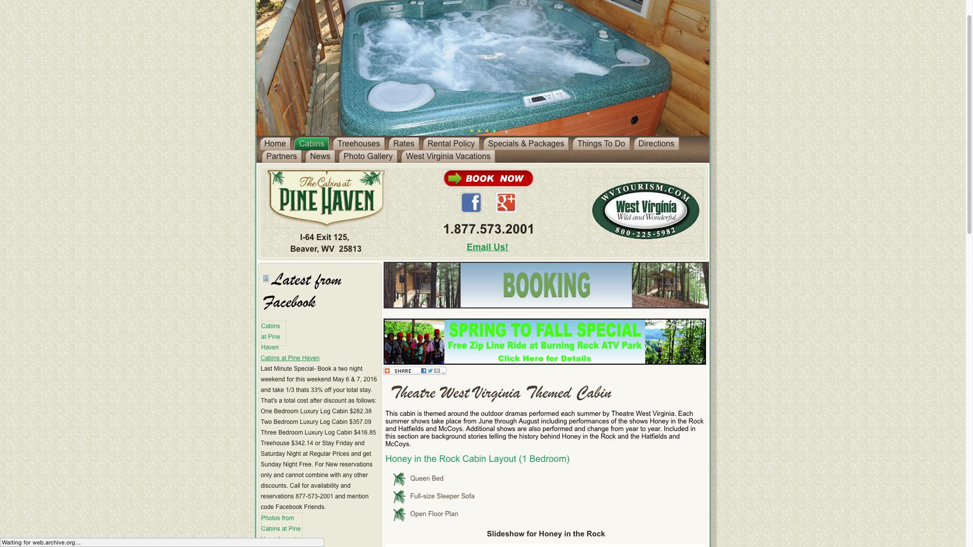 pinehaven-honey-rock-cabin-web-design