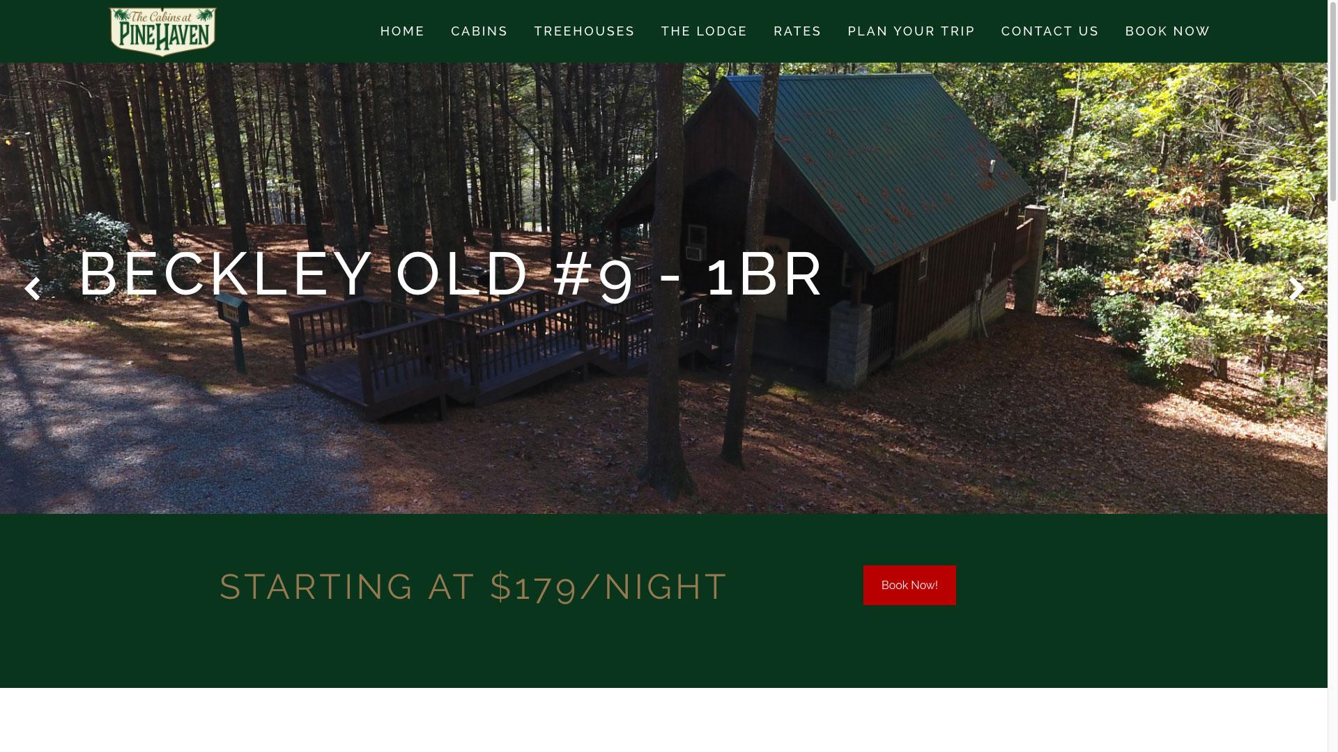 pinehaven-cabin-9-web-design