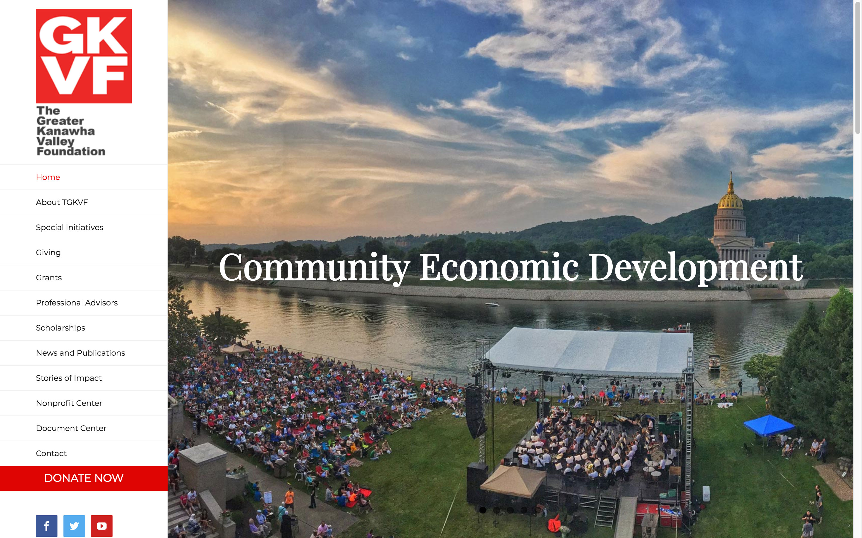 Community Economic Development-web-design