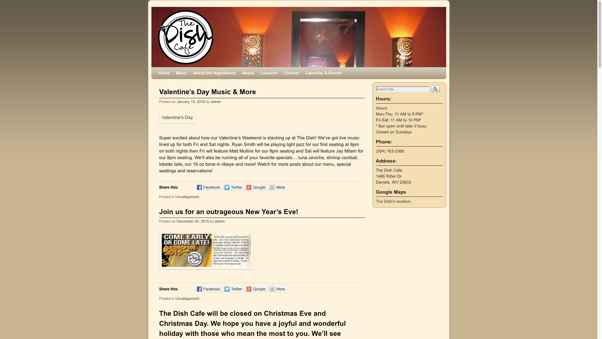 dish-cafe-blog-web-design