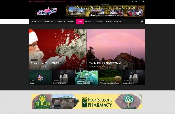 Star 95 Radio Home Page Best Websites in WV Beckley Princeton Bluefield Web Design